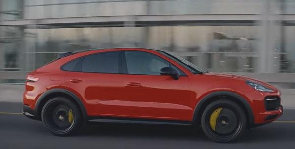 Porsche Cayenne Coupe 2020..