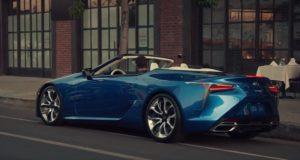 Convertible Lexus LS.
