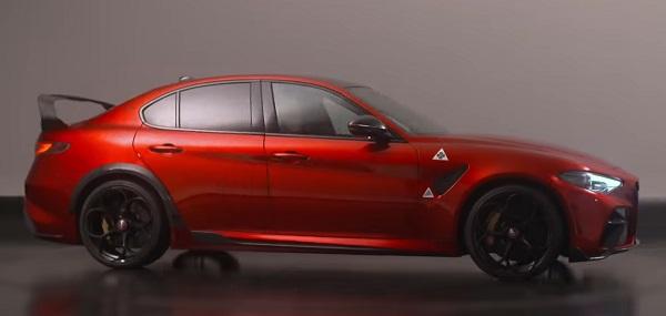 Alfa Romeo Giulia 2020..