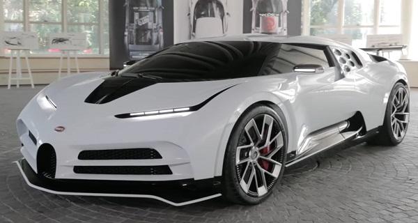 Bugatti Centodieci 2020..