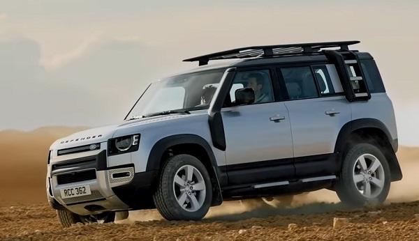 Land Rover Defender 2020.
