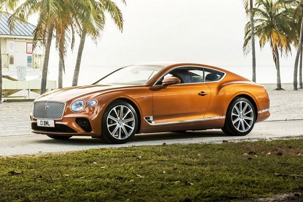 Bentley Continental GT V8 Coupe 2020.