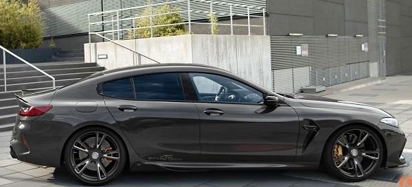 BMW M8 Gran Coupe 2020.