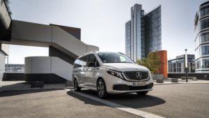 Mercedes EQV 2020-2021.