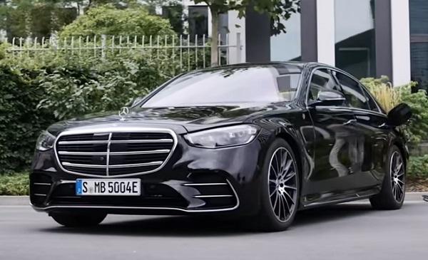 Mercedes S-Class 2021.
