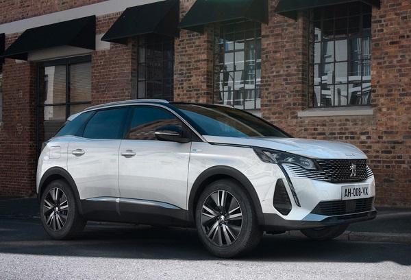 Peugeot 3008 2021.