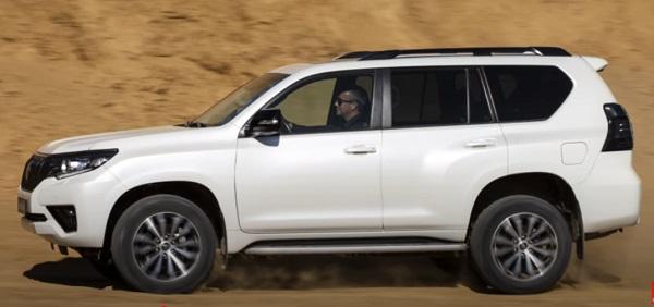 Toyota Prado 2021.