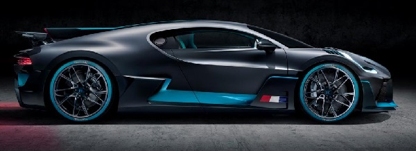 Bugatti Divo hypercar.