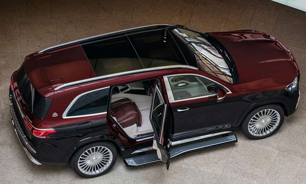 Mercedes-Maybach GLS 600 2020.