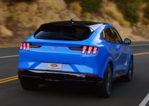 Ford Mustang Match-E 2020-2021.