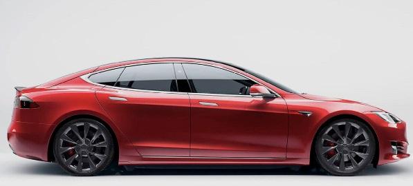 Tesla Model S Plaid 2021.