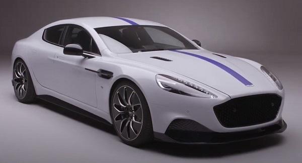 Aston Martin Rapide E 2021-2022.