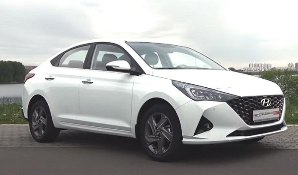 Hyundai Accent 2020-2021.