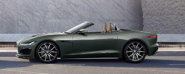 Jaguar F-Type Heritage 60.
