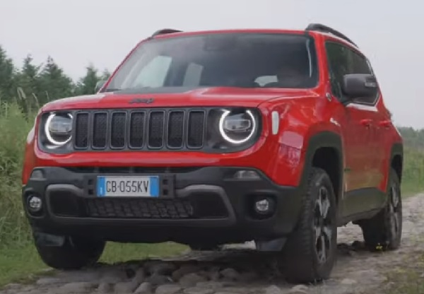 Jeep Renegade 2021.