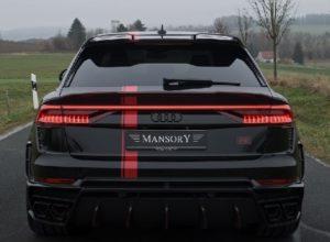 Audi RS Q8 2021.