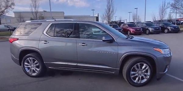 Chevrolet Traverse 2021.
