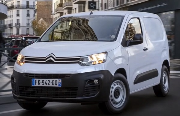 Citroen e-Berlingo 2021.