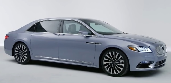 Lincoln Continental Coach Door Edition 2021.