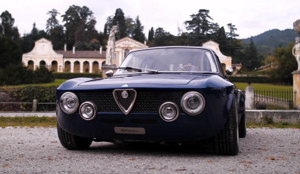 Alfa Romeo Giulia GT electric 2021.