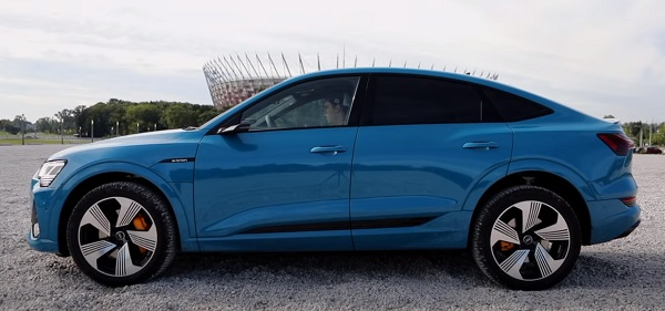 Audi e-tron Sportback 2021.