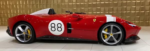Ferrari MONZA SP1 2022.