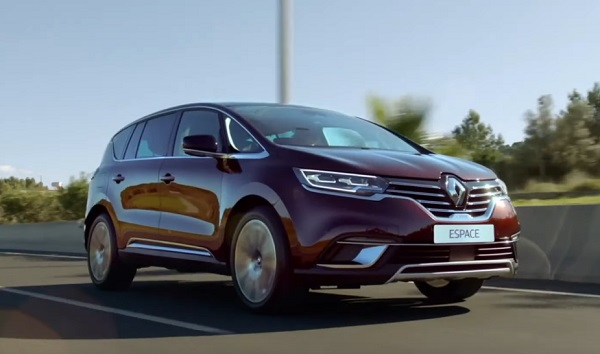 Renault Espace 2021.