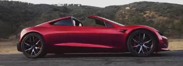 Tesla Roadster 2022.