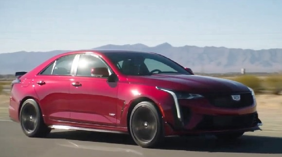 Cadillac CT4-V Blackwing 2022.