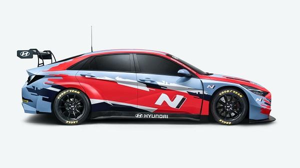 Hyundai Elantra N TCR 2021.