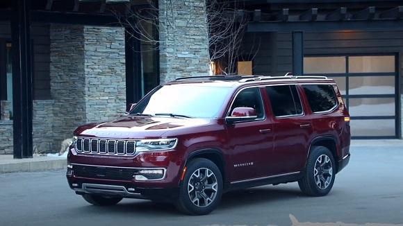 Jeep Wagoneer 2022.