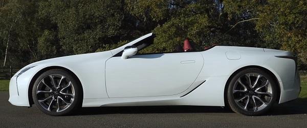 Lexus LC 2021.