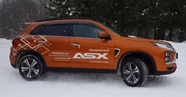 Mitsubishi ASX 2021.