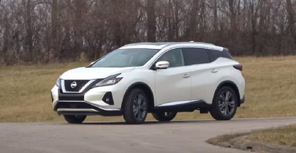 Nissan Murano 2021.