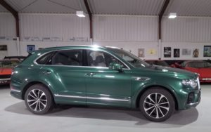 Bentley Bentayga V8 2021.
