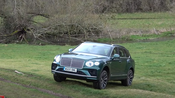 Bentley Bentayga V8 2021.