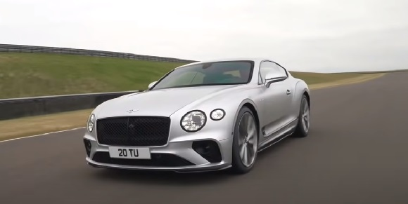 Bentley Continental GT Speed ​​2022.