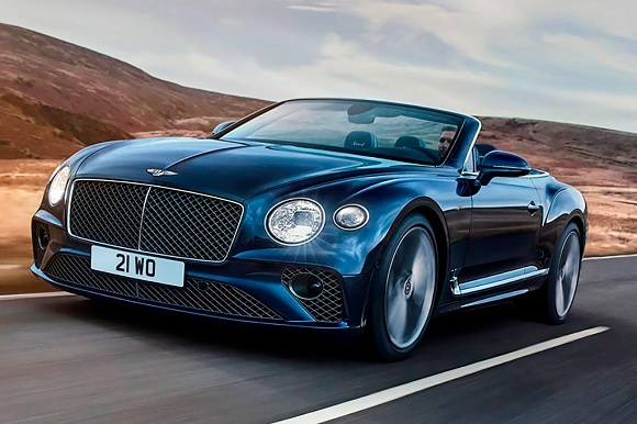 Bentley Continental GT Speed Convertible 2021.