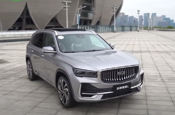 Geely Xingyue L 2021.