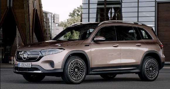Mercedes-Benz EQB 2022.