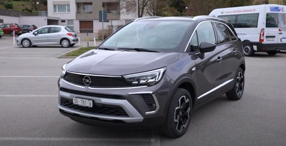 Opel Crossland 2021.
