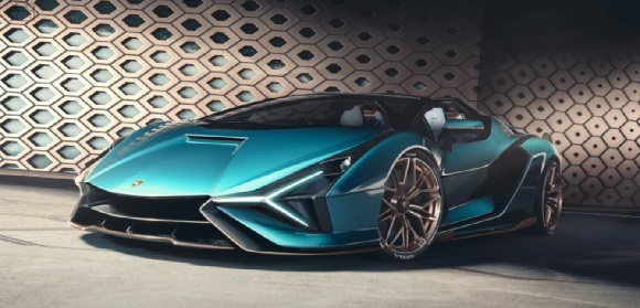 Roadster Lamborghini Sian 2021.