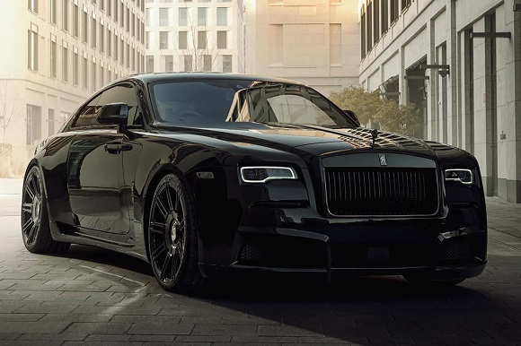 Rolls-Royce Wraith Black Badge 2021.