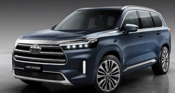 Toyota Land Cruiser 300 2021.