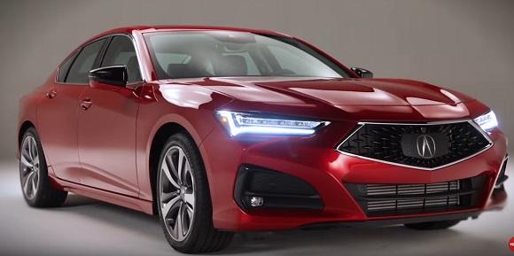 Acura TLX 2021.