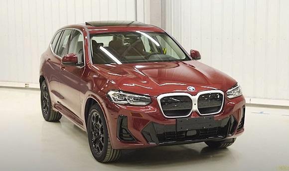 BMW X3 2022.