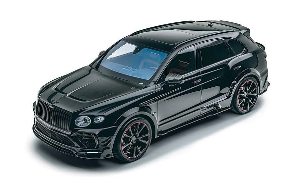 Bentley Bentayga from Mansory.