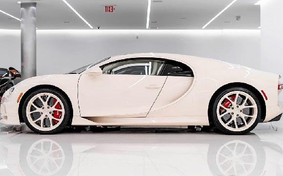 Bugatti Chiron Hermes.