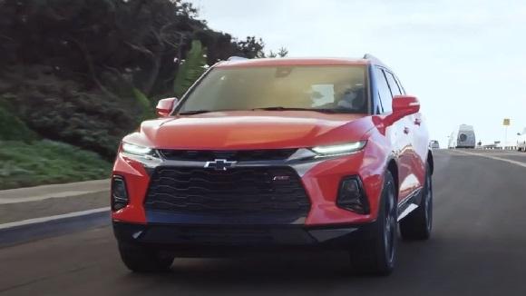 Chevrolet Blazer 2022.