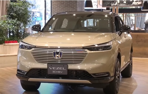 Honda Vezel 2022.